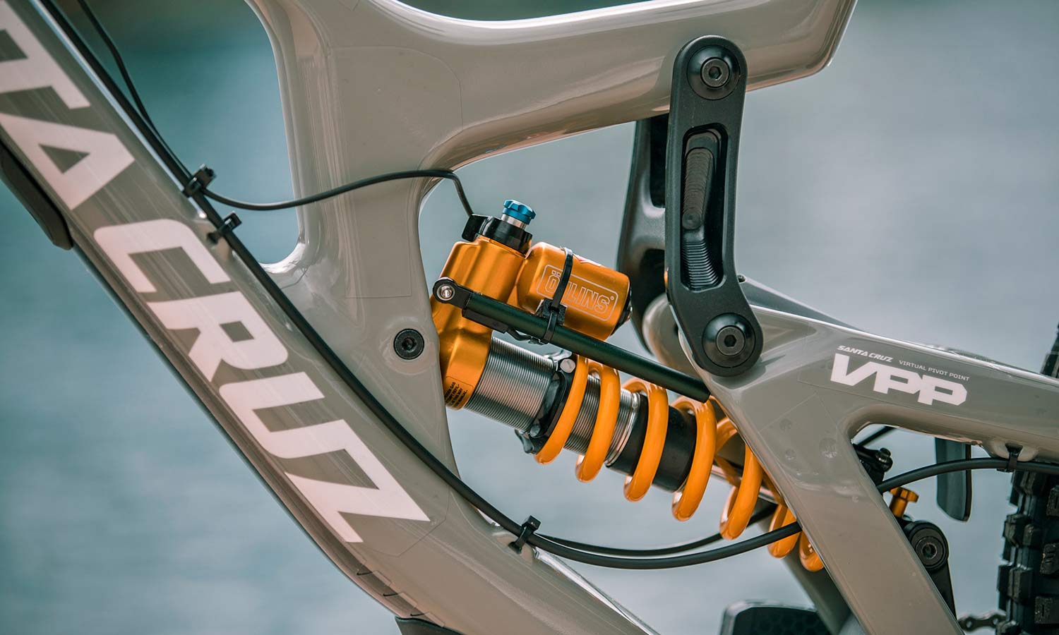 BYB Telemetry v2 pro MTB suspension analysis for the privateer mountain bike racer, photo by Michele Lotti shock setup