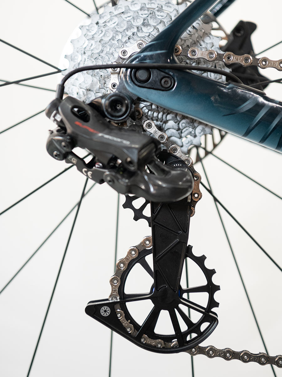 kogel oversized ceramic bearing pulley cage for campagnolo eps