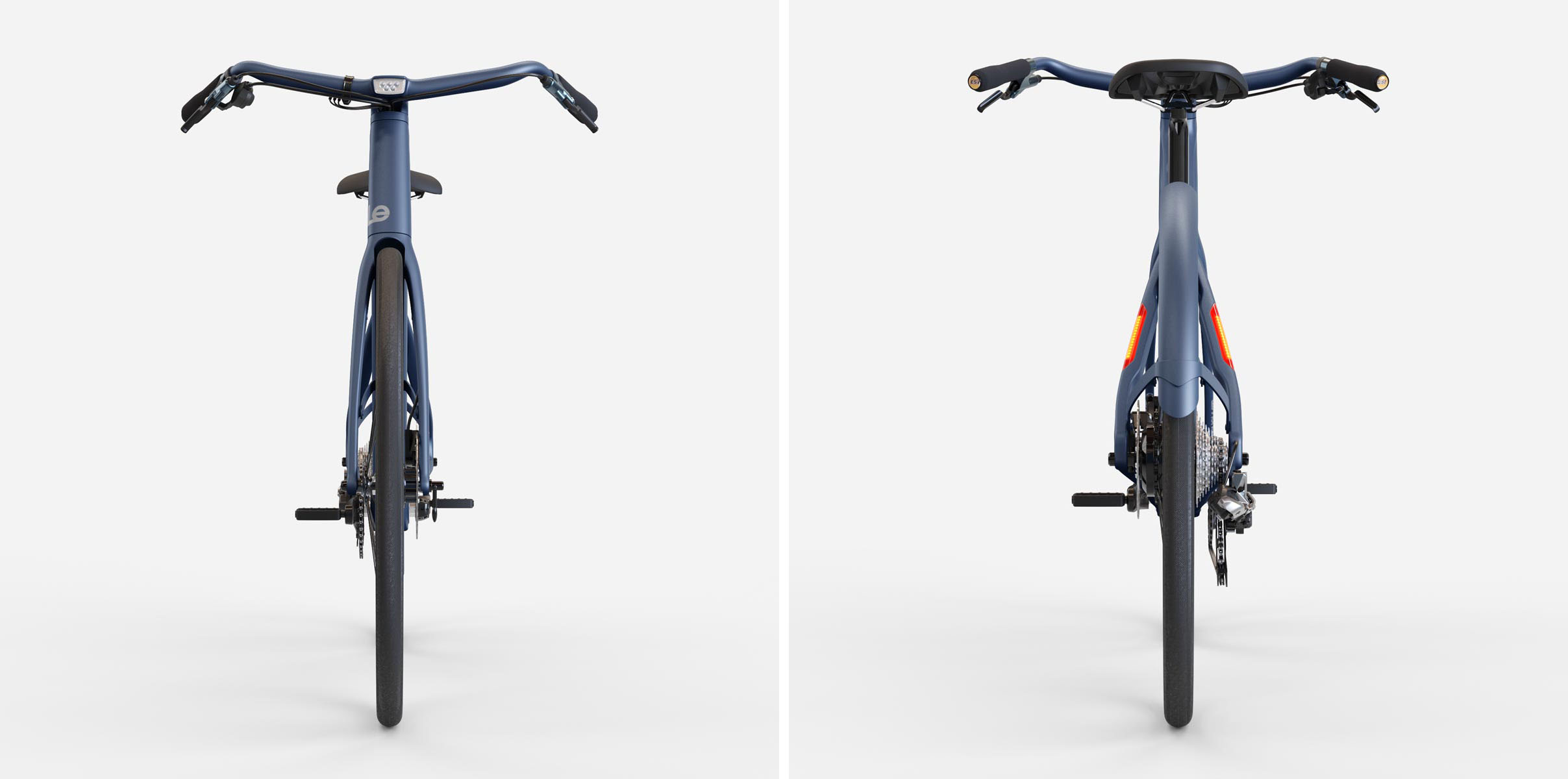 LeMond Dutch e-bike front and back