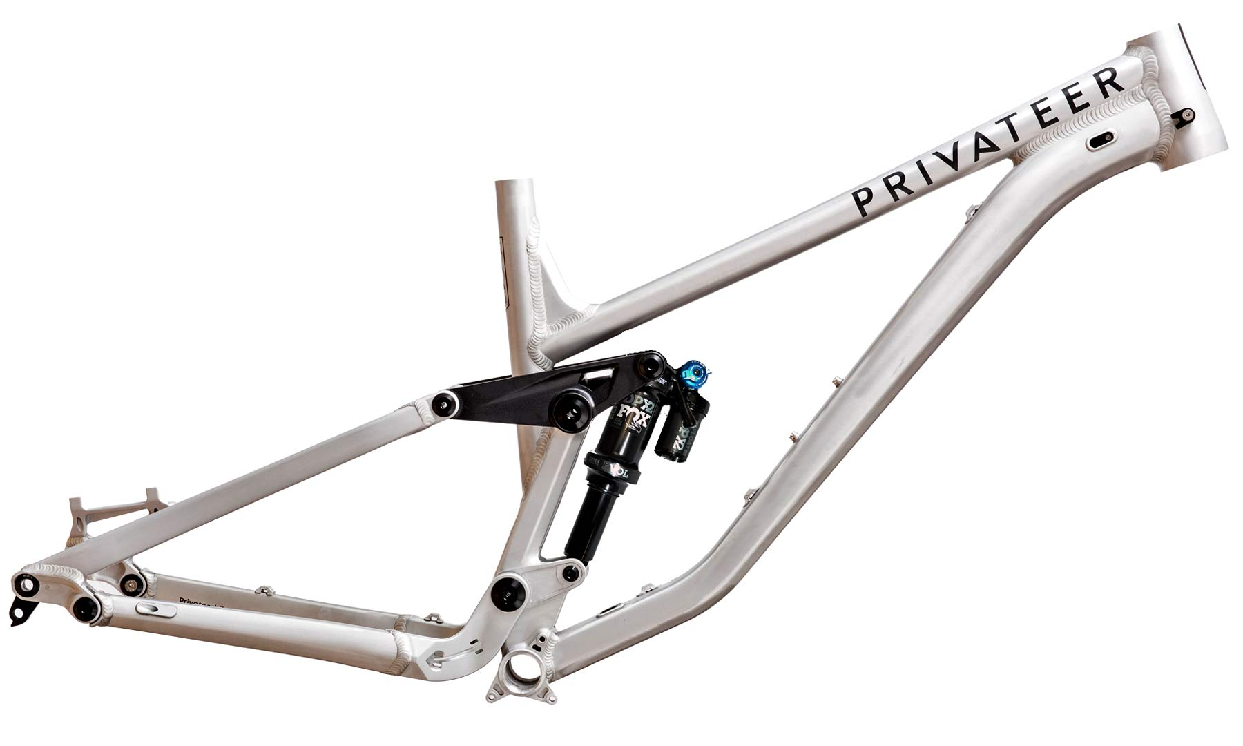 Privateer 141 all-mountain trail bike, affordable alloy 29er trail enduro all-mountain bike, raw aluminium frameset