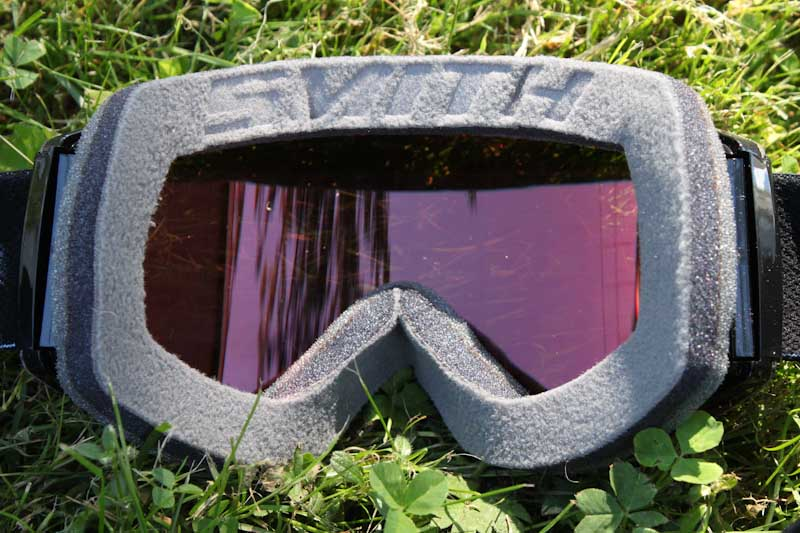 Smith Squad MTB goggles, inside