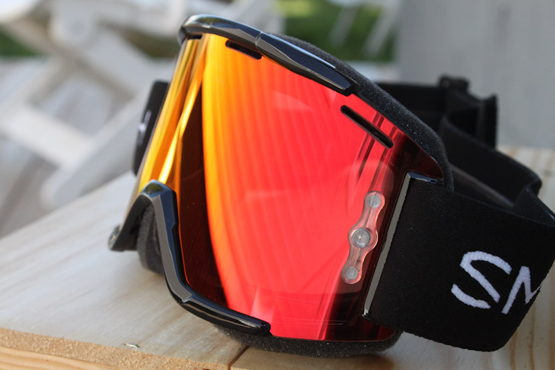 Smith Squad MTB goggles, Everyday Red Mirror Lens
