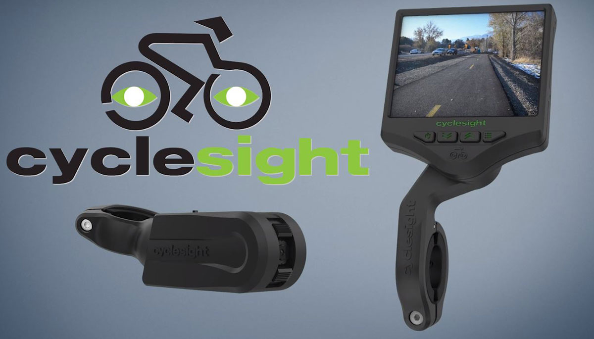 Cyclesight rear view cam watches your back... with a massive screen up front - Bikerumor