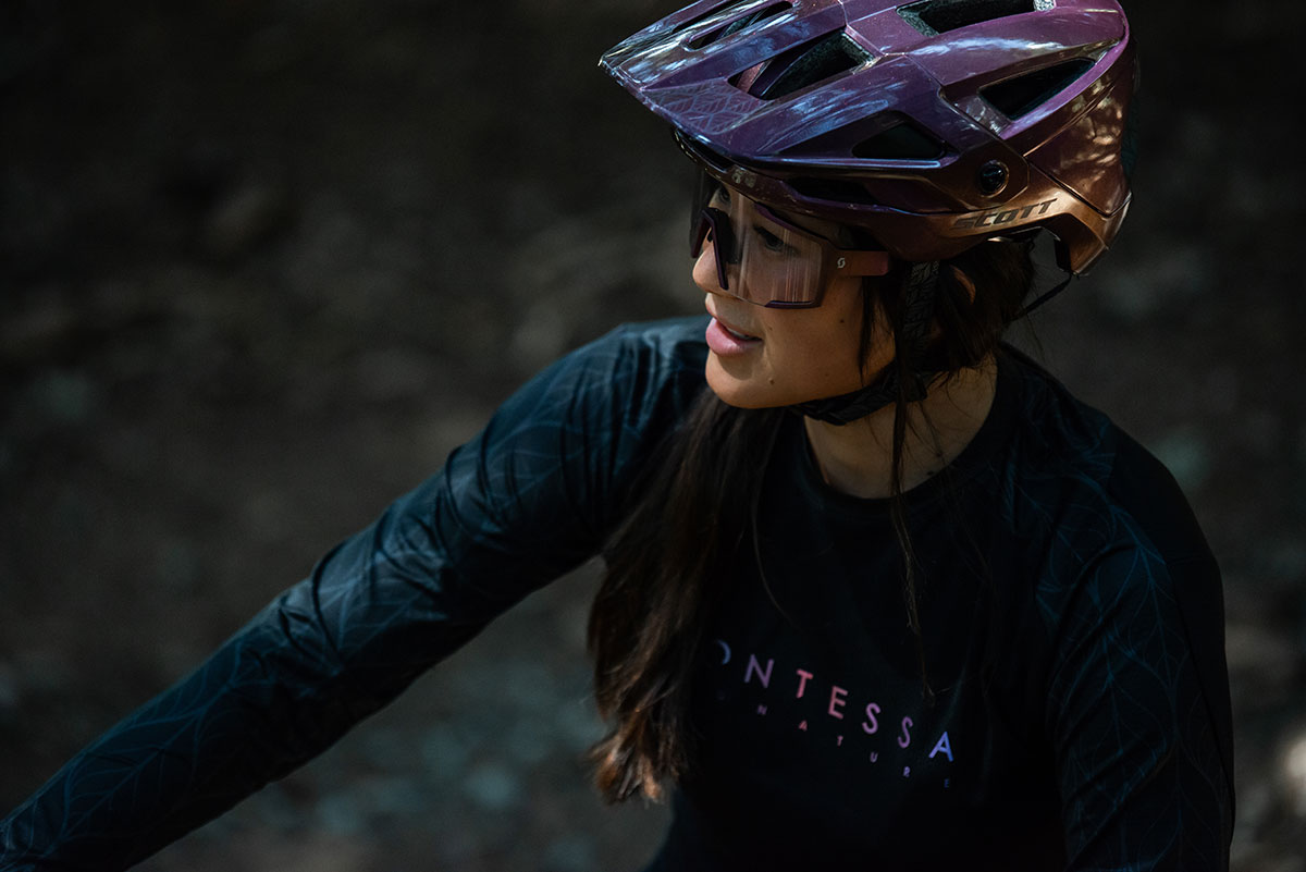 2021 scott contessa signature collection mountain bike clothing for women
