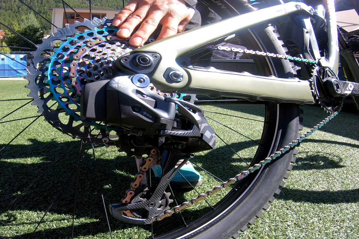 52t eagle cassette upgrades chainring to larger 34t