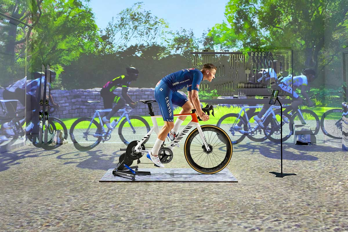 zwift rider could soon be riding on a Zwift brand indoor cycling trainer