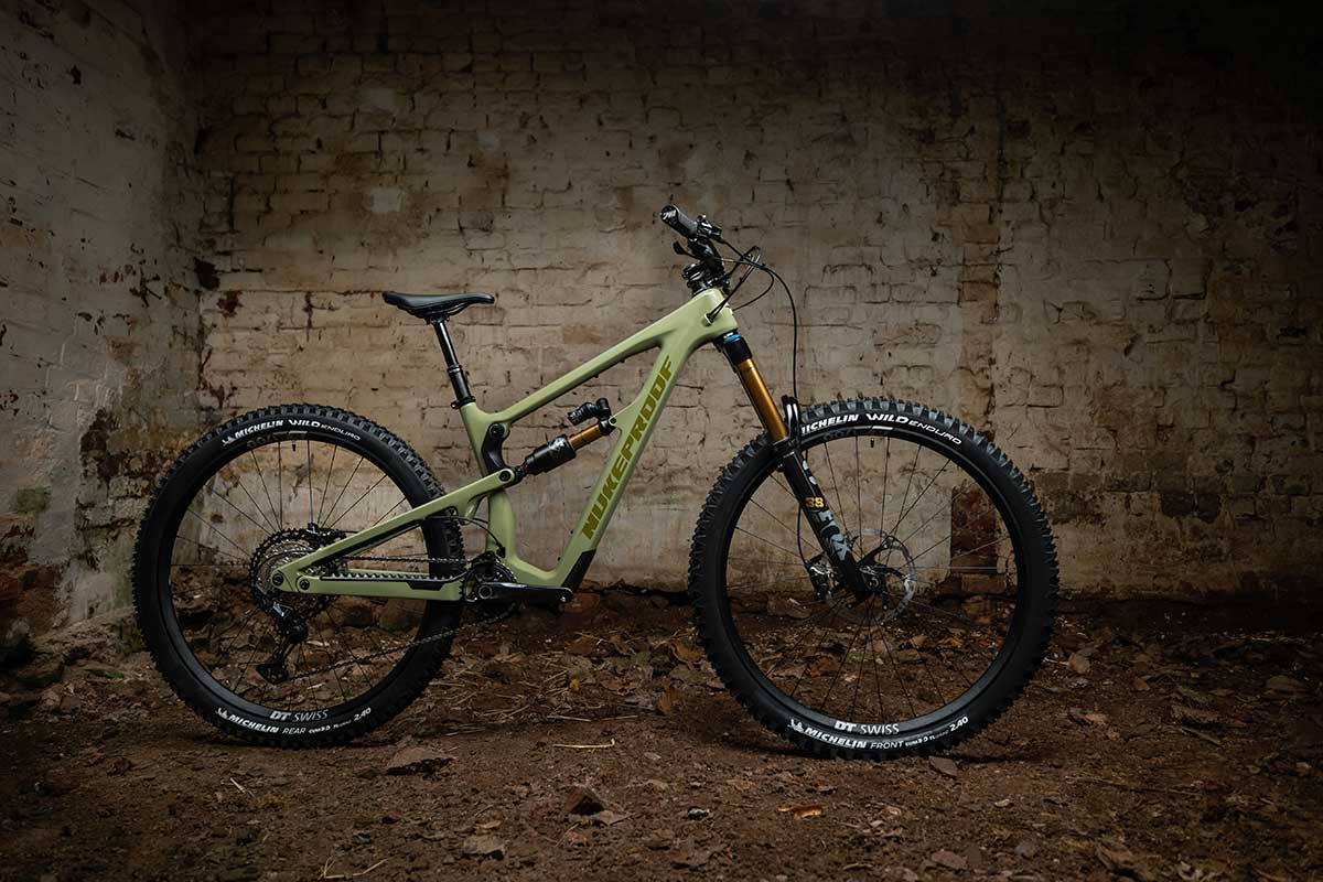 nukeproof mega five frame size options for 2021