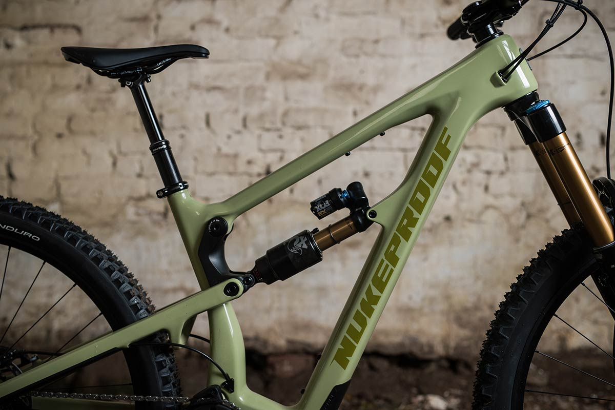 2021 nukeproof mega factory build carbon frame