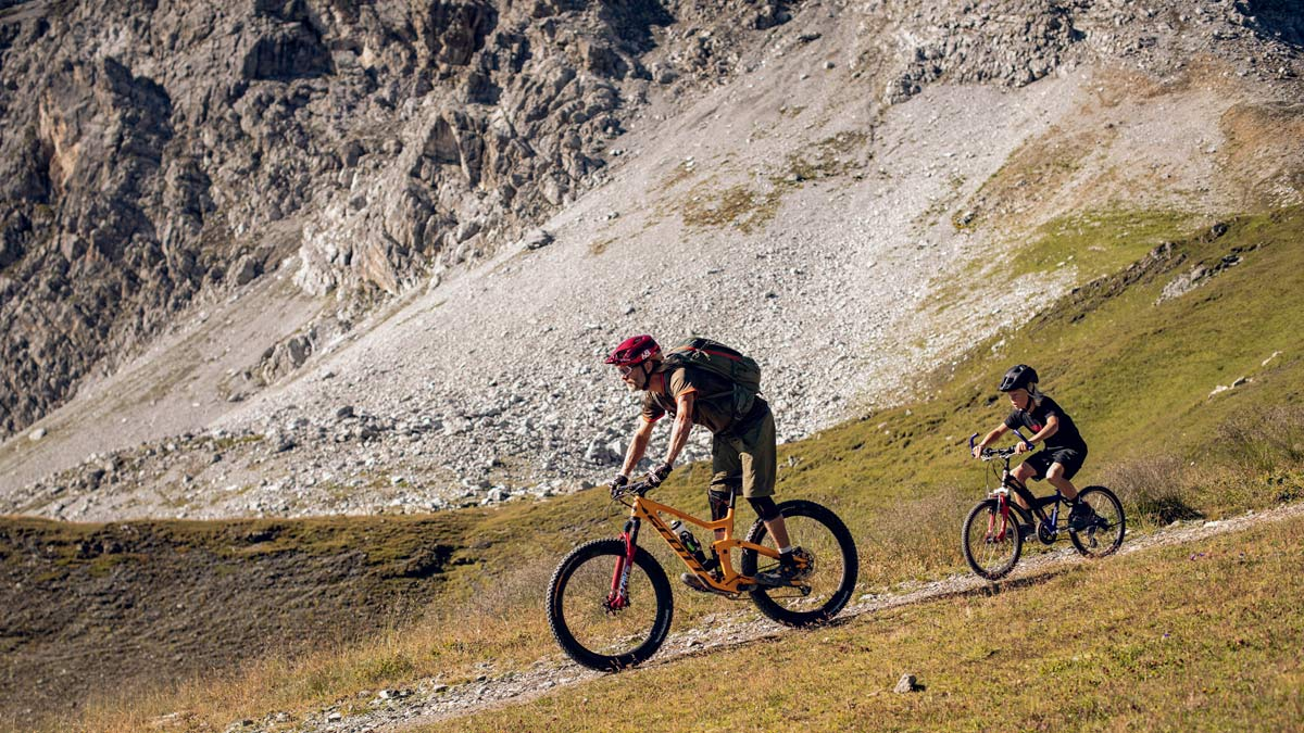 Scott Heroes Inspire Heroes, tips for riding with kids