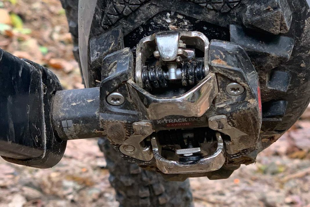 Look X-Track Race Carbon XC mountain bike pedals review