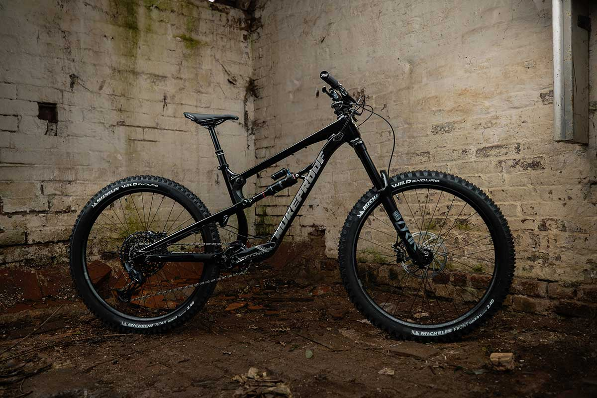 2021 nukeproof mega 275 pro build black frame