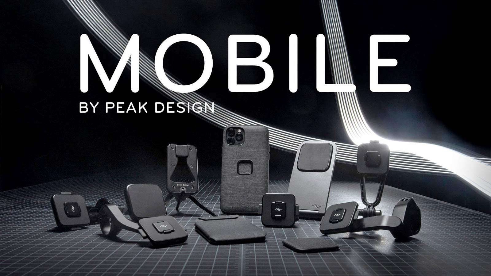 Mobile by Peak Design phone case and mounts, magnetic and secure locking mobile phone bike mounts everyday case charging adapters,series