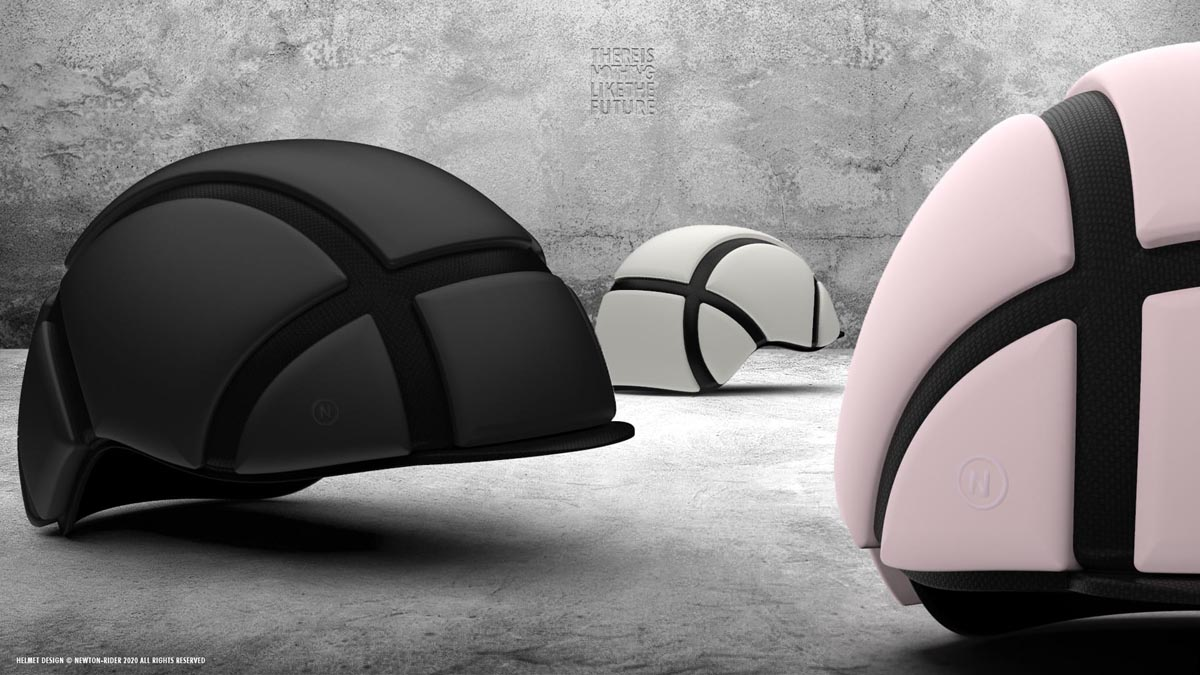 """""""World's thinnest bicycle helmet"""" handles repeat impacts, folds into your hip pack - Bikerumor"""
