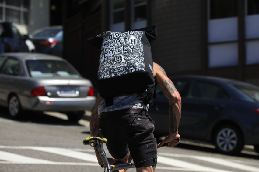Ortlieb custom bags benefit Cycles of Change