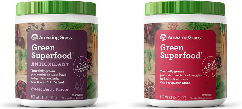amazing greens grass drink superfood