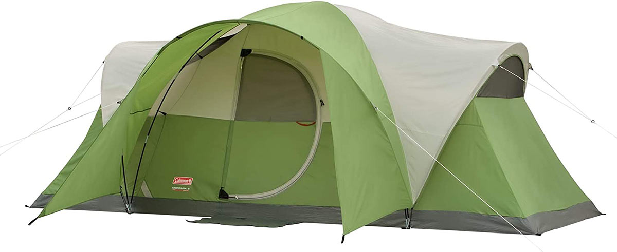 coleman montana 8-person tent on sale in amazon prime days