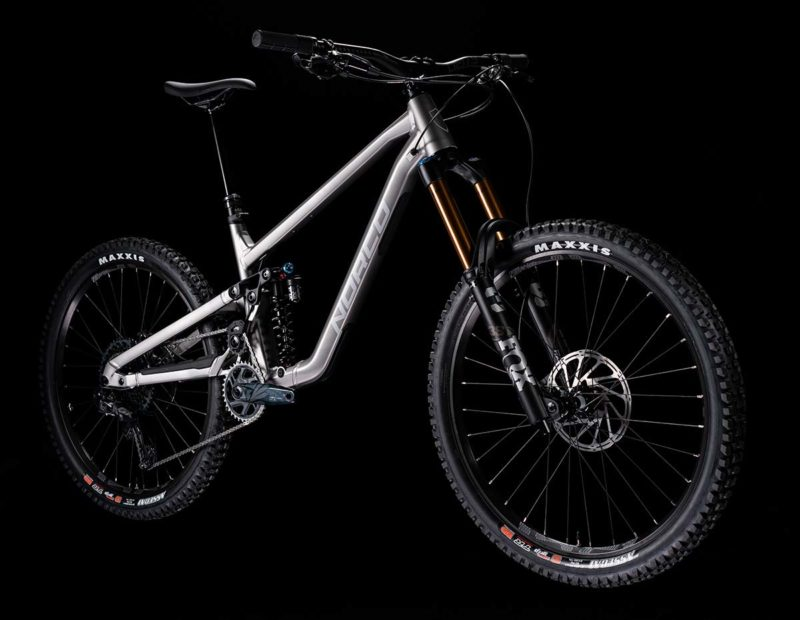 all-new norco shore high pivot mtb 180mm front rear travel