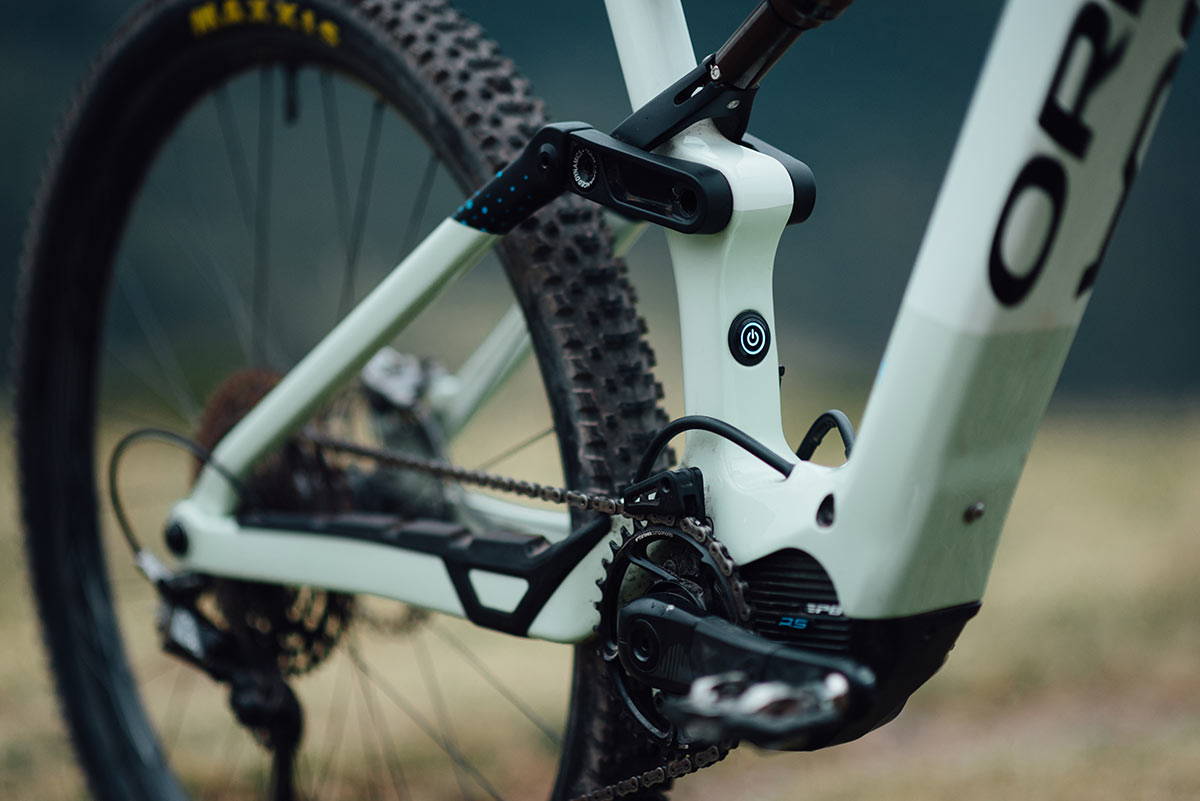 """orbea rise carbon emtb gets 445mm chainstays 29"""" wheels"""