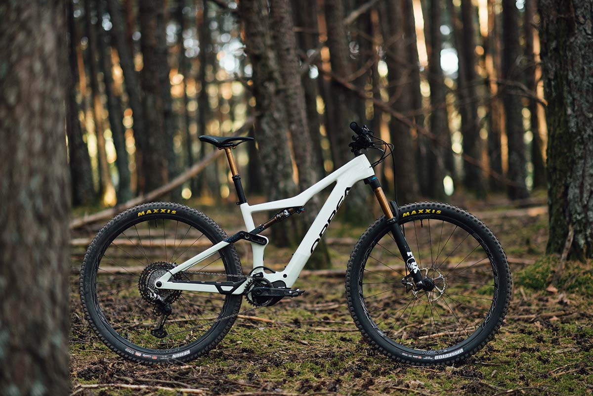 orbea rise trail emtb geometry 445mm chainstays