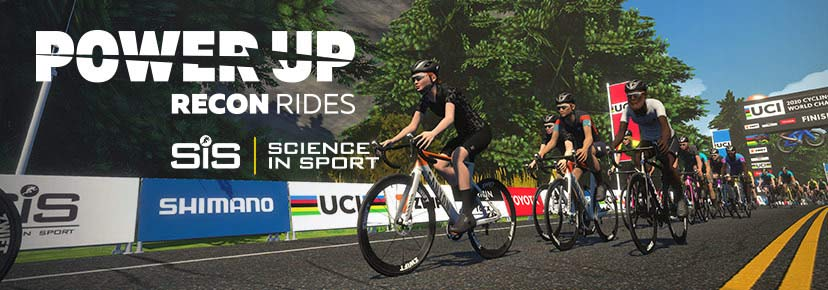 2020 UCI Zwift Cycling eSports World Championship details and community rides,Power Up Podcast Recon Rides