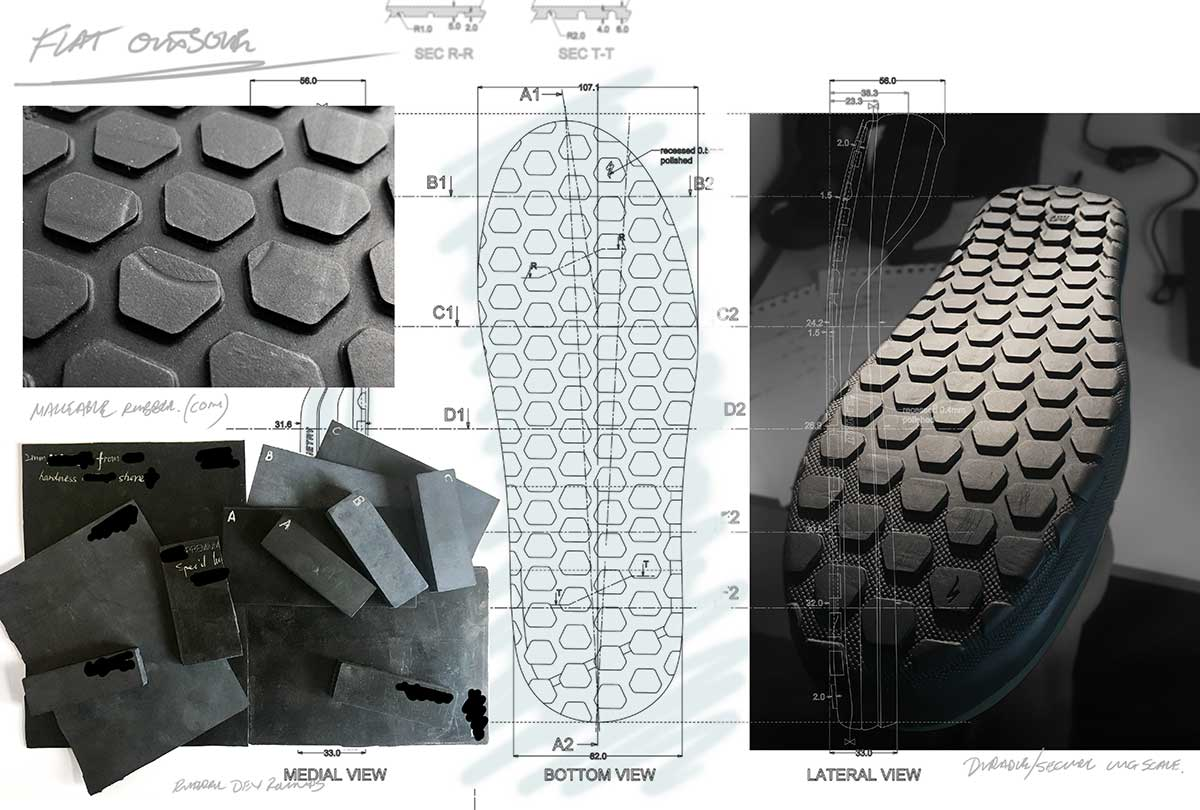 specialized 2fo roost third generation rubber compound super tacky low rebound no bounce high grip conforms to pedal pin shape