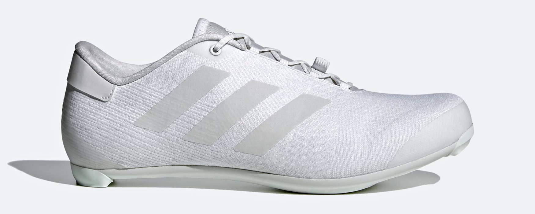 Adidas The Road Cycling Shoes, all-new mid-price lace-up soccer football style road bike shoe,white side
