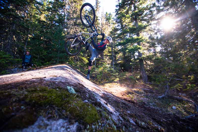 Knolly Chilcotin 167, footplant