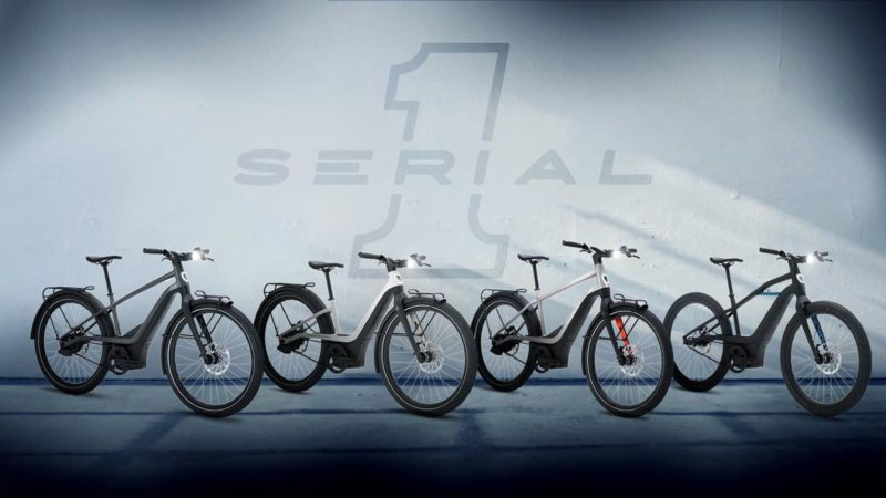 serial one e-bikes from harley davidson