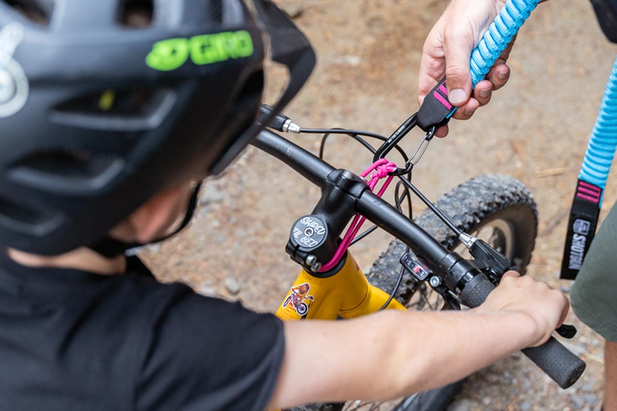 alternate mount for MTB Tow Rope