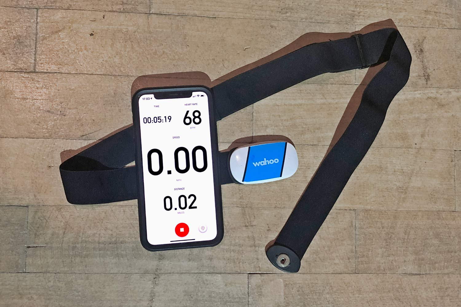 Strava mobile app Bluetooth heart rate tracking returns, iPhone paired to Wahoo Tickr