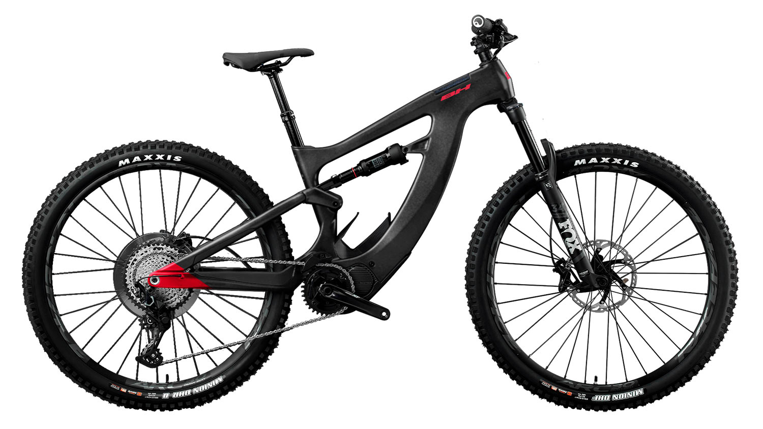 2021 BH XTEP full suspension electric assist mountain bike side profile