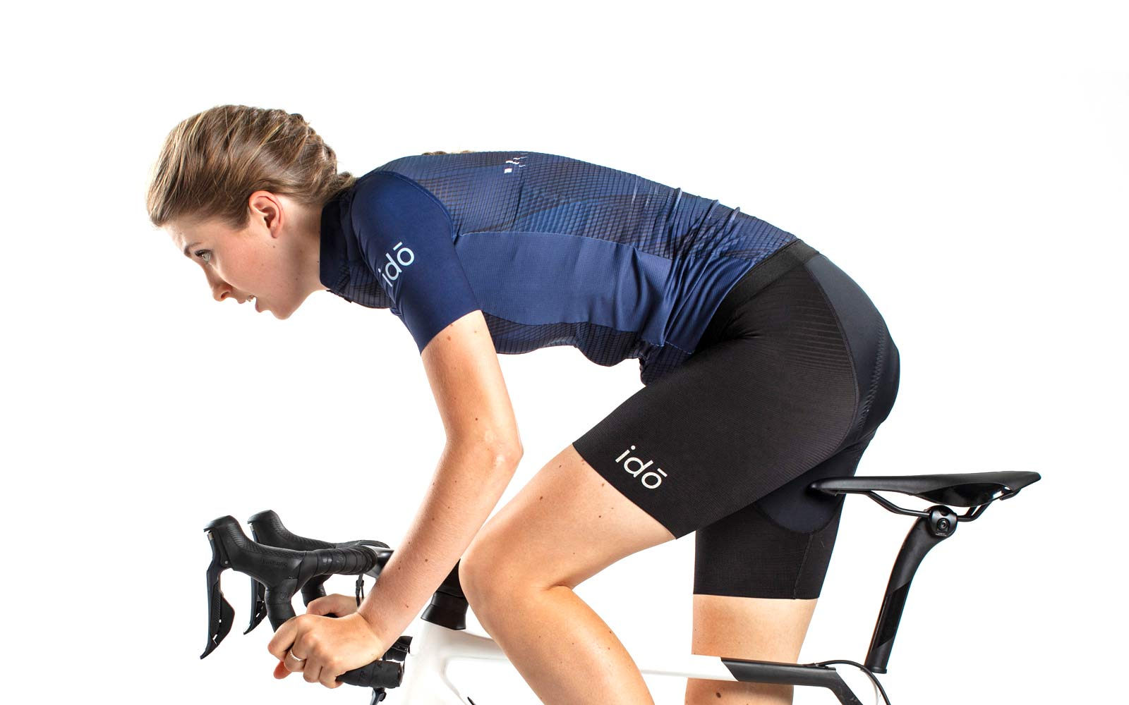 ido indoor cycling clothing, idō lightweight breathable indoor training virtual racing kit for men & women