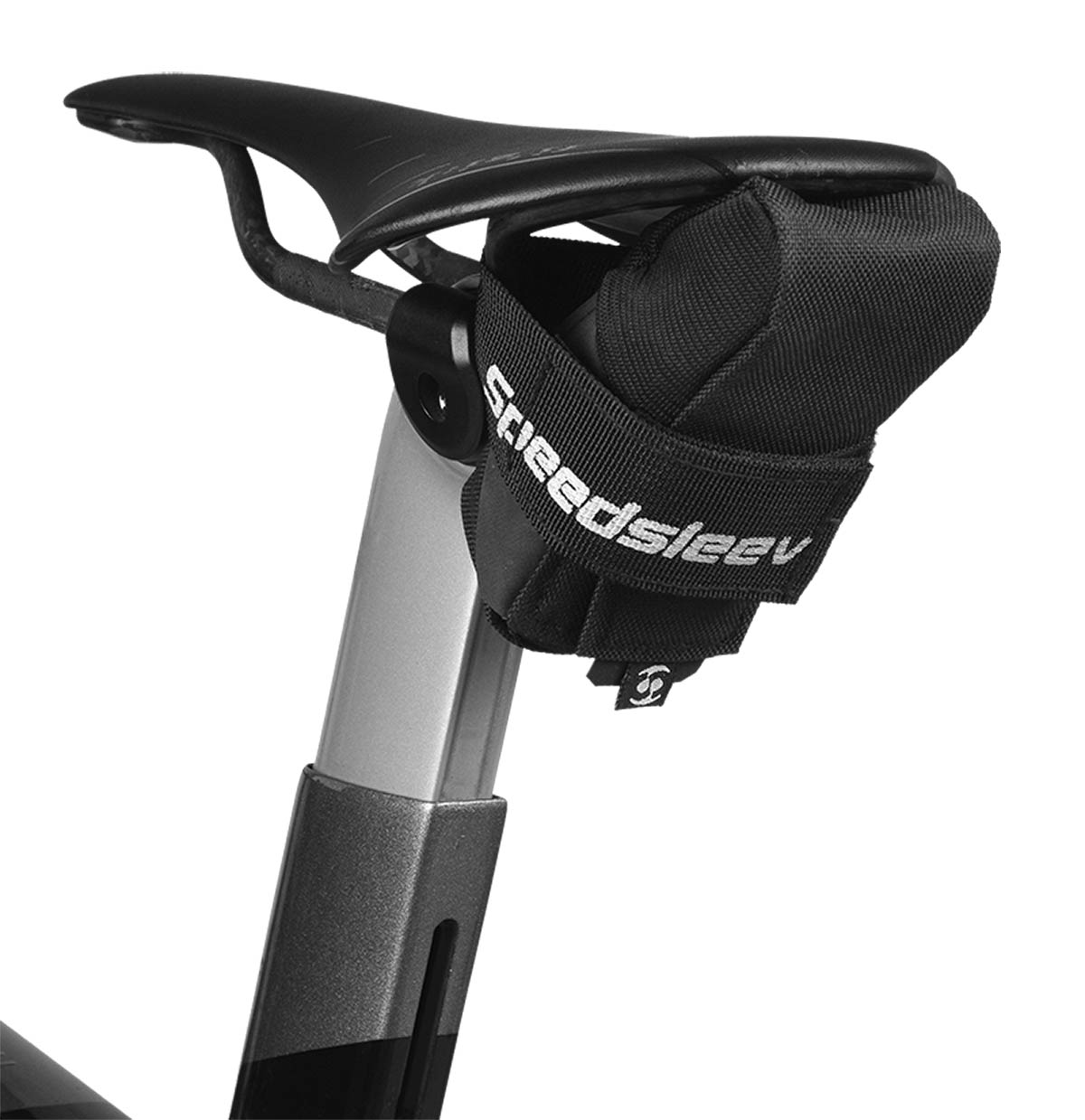speedsleev otf gravel saddle pack carries tubeless repair kit waterproof