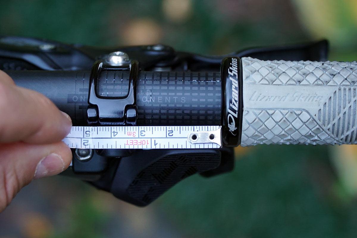 sram eagle axs rocker paddle shifter upgrade fit shown on handlebar