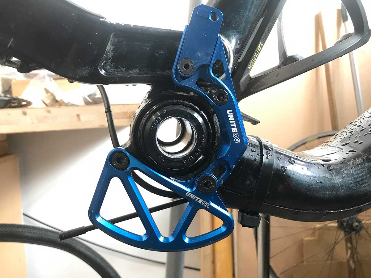 unite co chain guide bashguard view no chainring iscg tabs cannondale jekyll