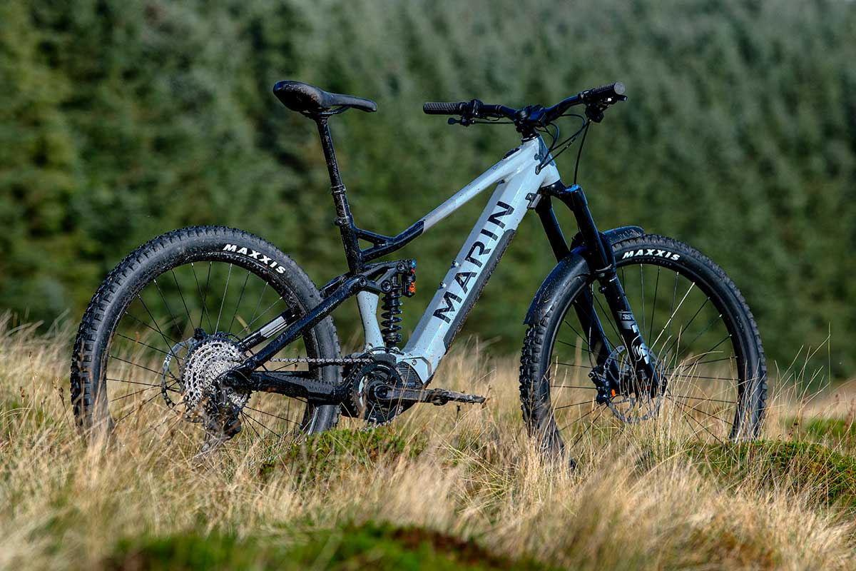 2021 marin alpine trail emtb mullet mixed wheel size enduro ebike