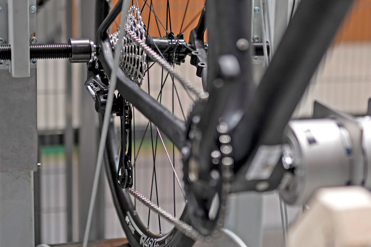 Classified Carbon Wheelsets, gravel & all-road wheels with wireless 2x internal gear hub built-in,test