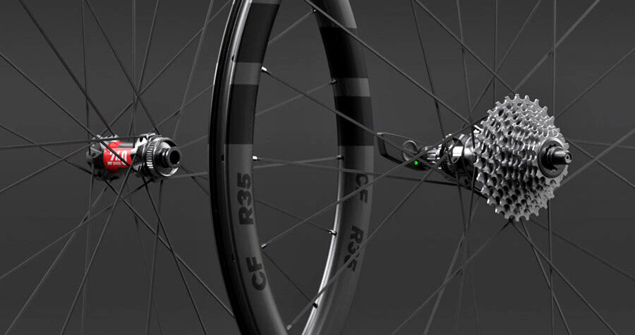 Classified Carbon Wheelsets, gravel & all-road wheels with wireless 2x internal gear hub built-in,hub details