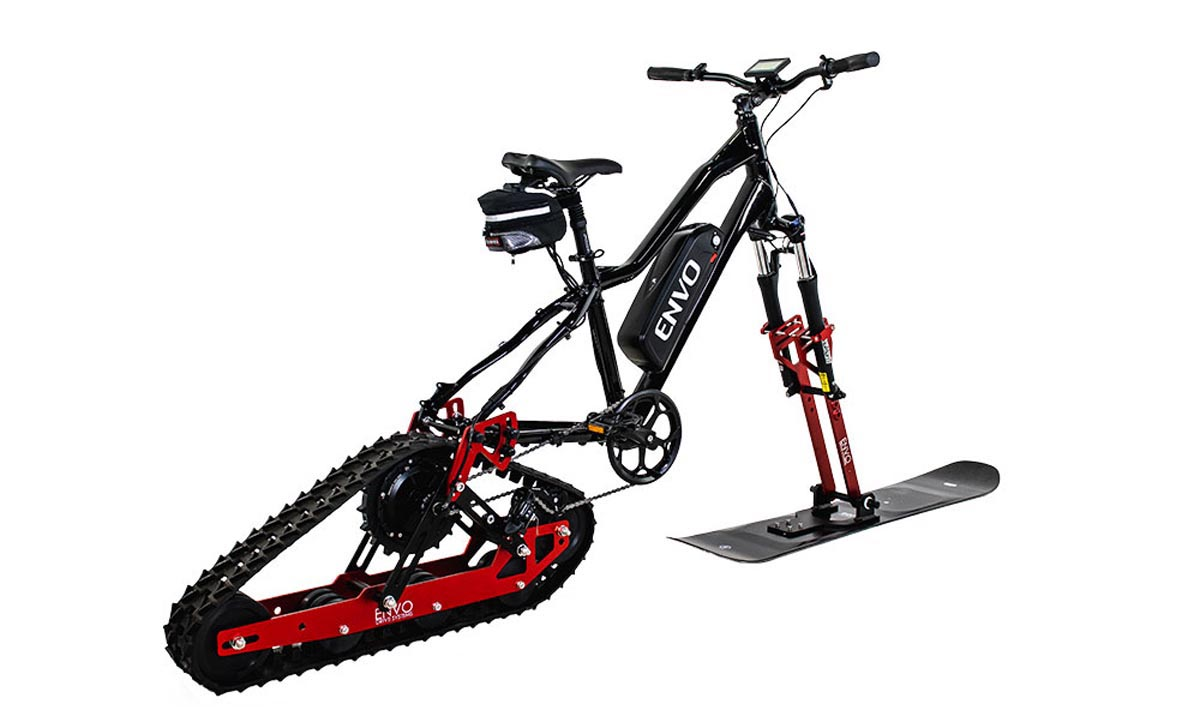ENVO Snowbike Conversion kit side profile like timbersled kind of