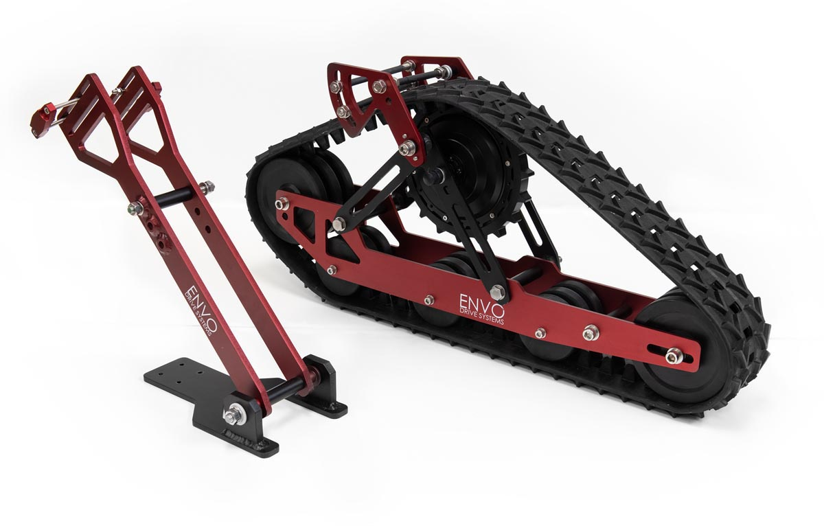 ENVO Snowbike Conversion kit rear track