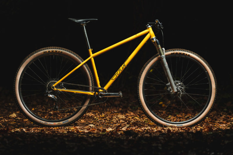 Sour Pasta Party steel XC hardtail mountain bike, complete