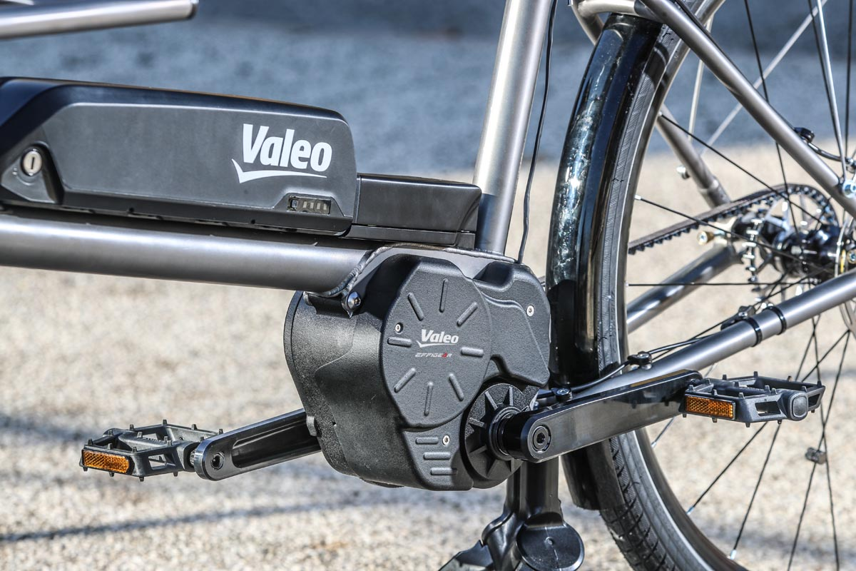 Valeo smart e-bike system with integrated shifting