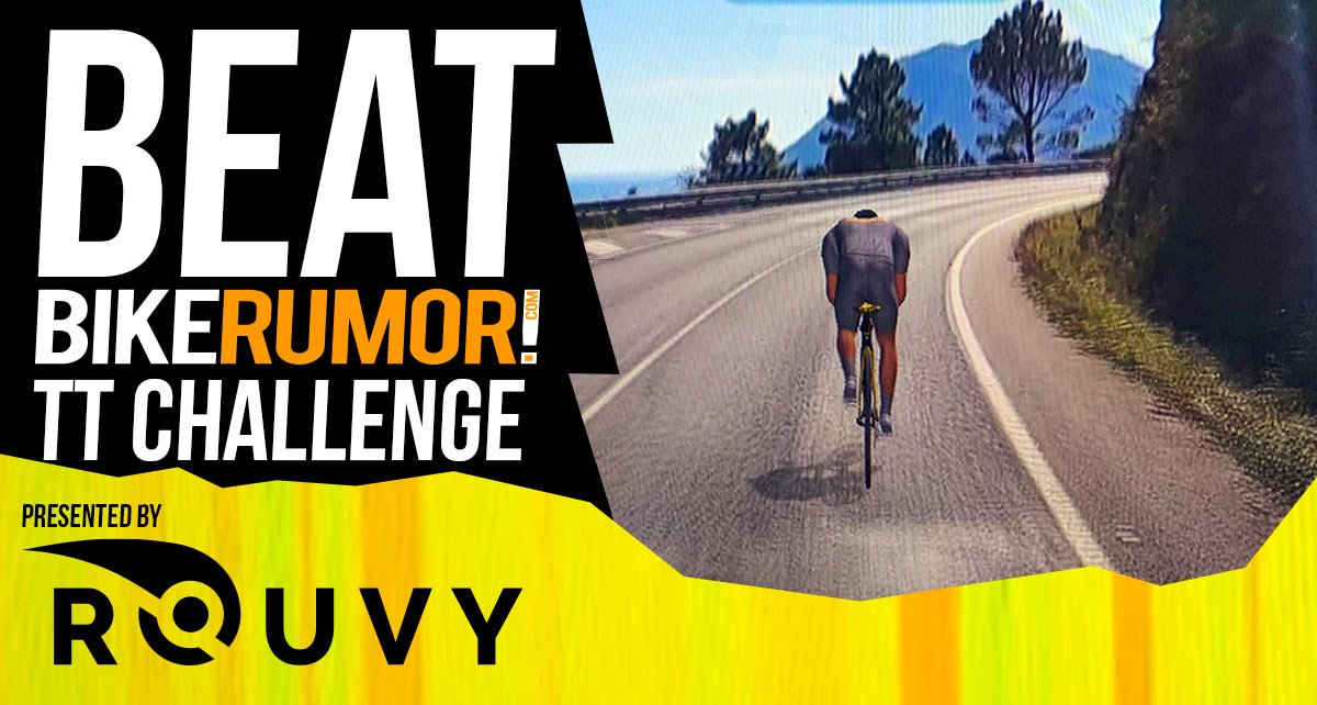 beat bikerumor rouvy tt virtual time trial challenge with prizes