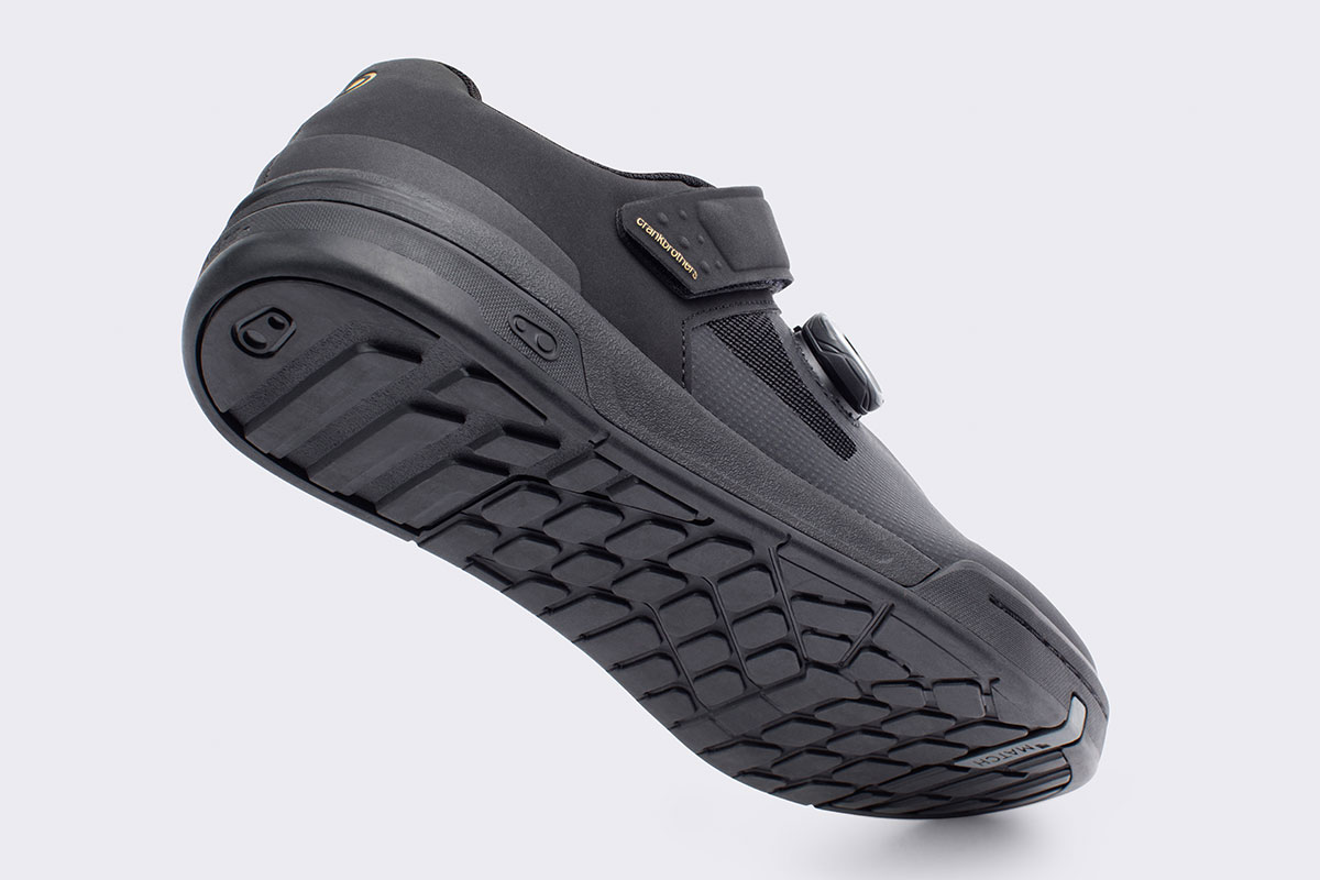 crankbrothers stamp flat pedal mtb shoe boa mc2 rubber compound high friction low rebound
