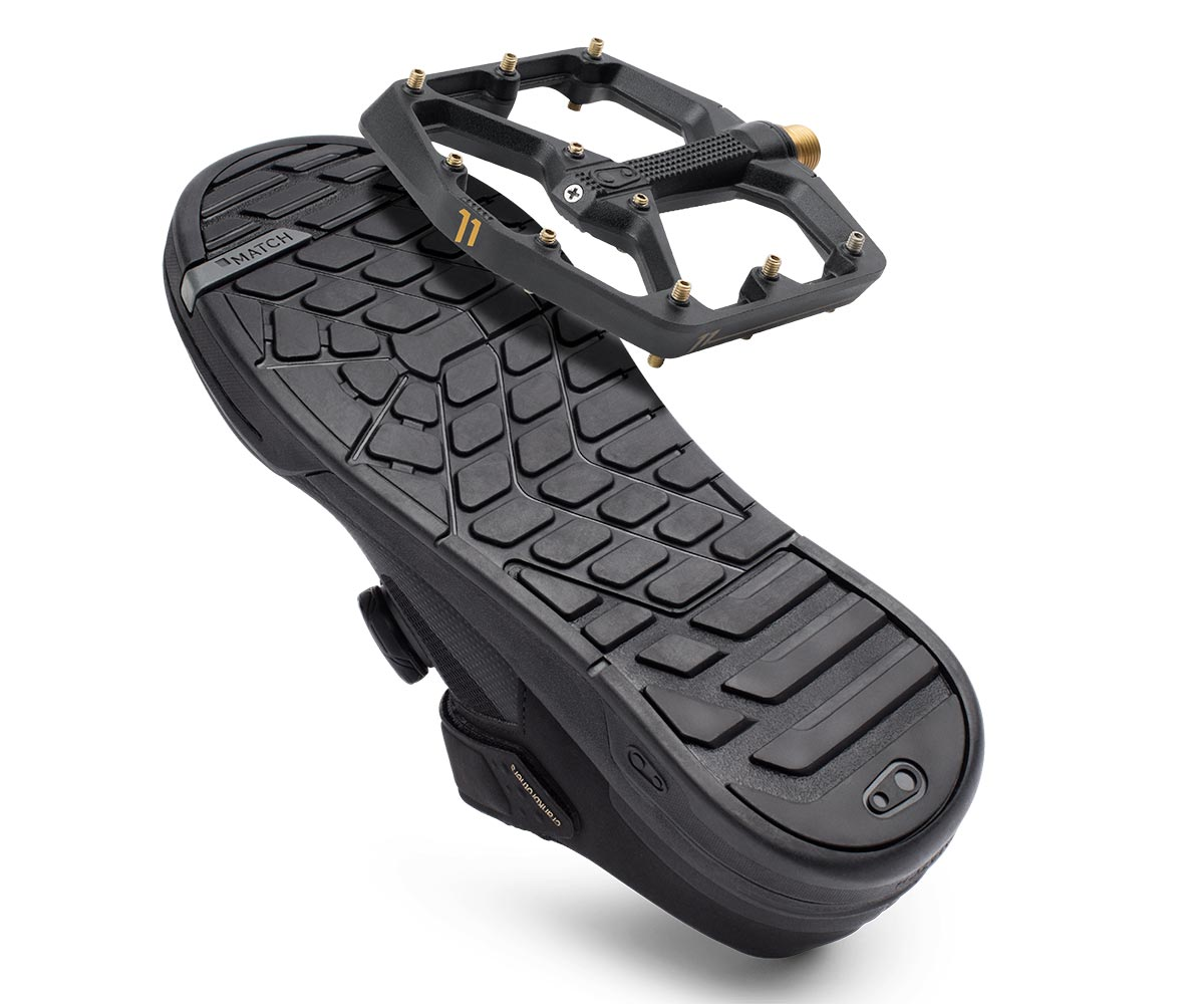 crankbrothers stamp pedal shoe combination match