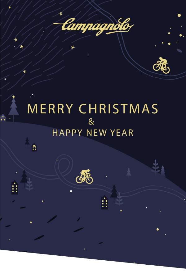 merry christmas campagnolo