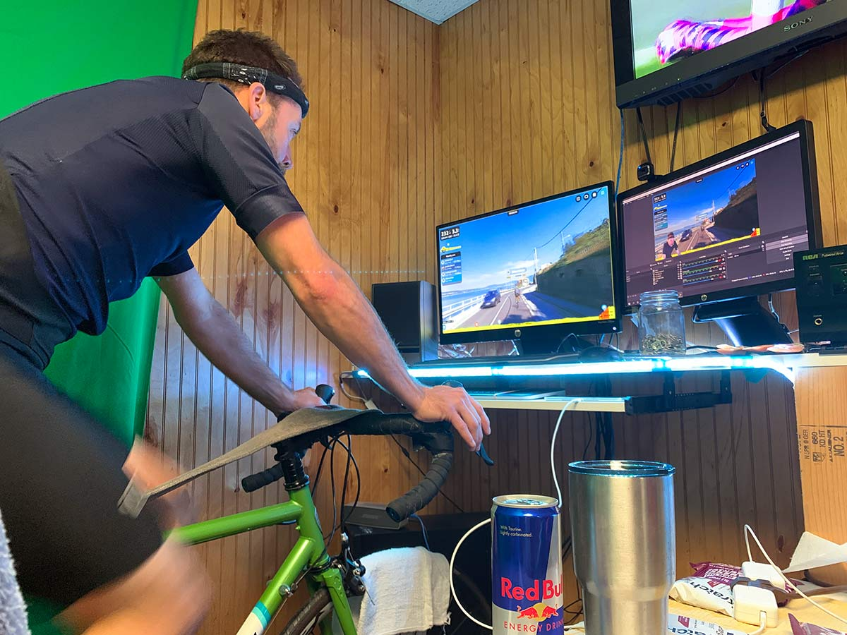 equipment needed to race rouvys indoor virtual cycling app on your smartphone tablet or computer