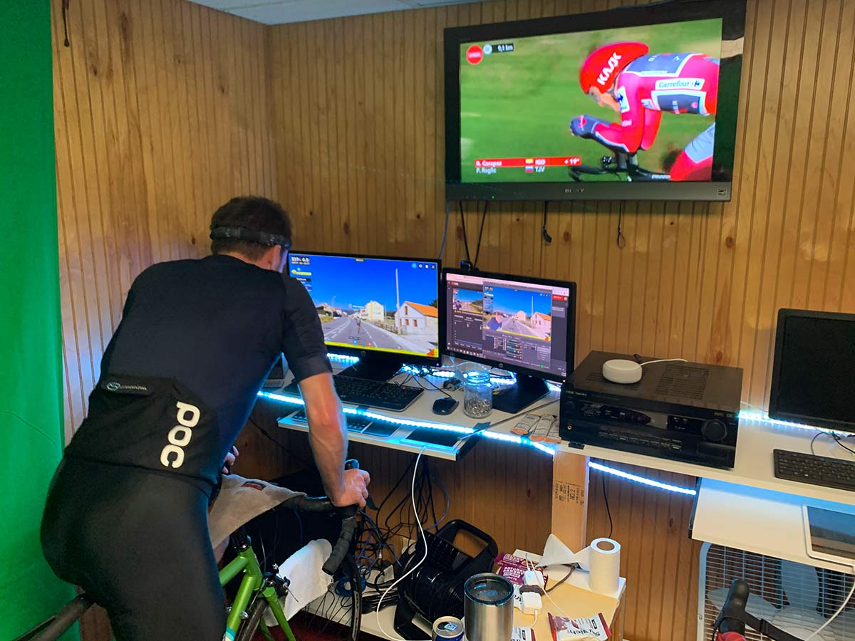rouvy virtual cycling routes for indoor training match up to real world race routes