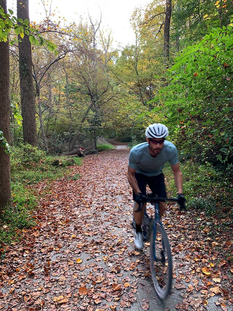 tyler riding a gravel bike for his editors choice selections for 2020