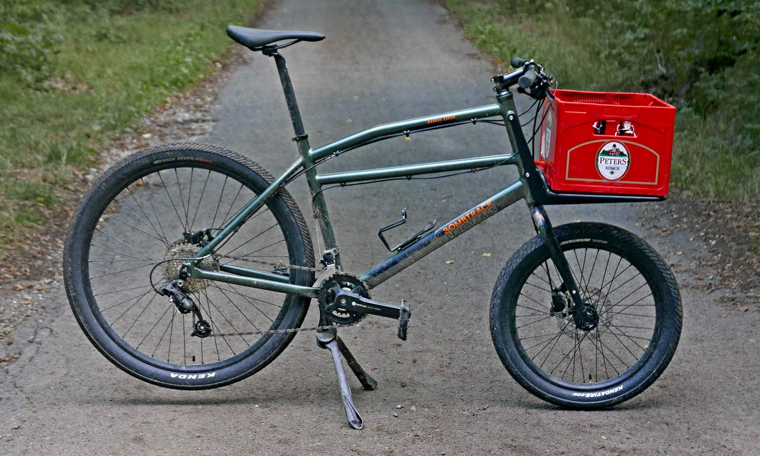 2021 Bombtrack Munroe Cargo bike, all-purpose alloy freight bicycle urban gravel city cycle truck,complete